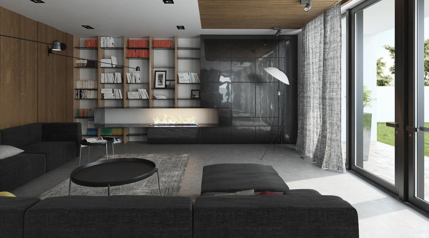 Индивидуальный жилой дом с высокими эстетическими качествами