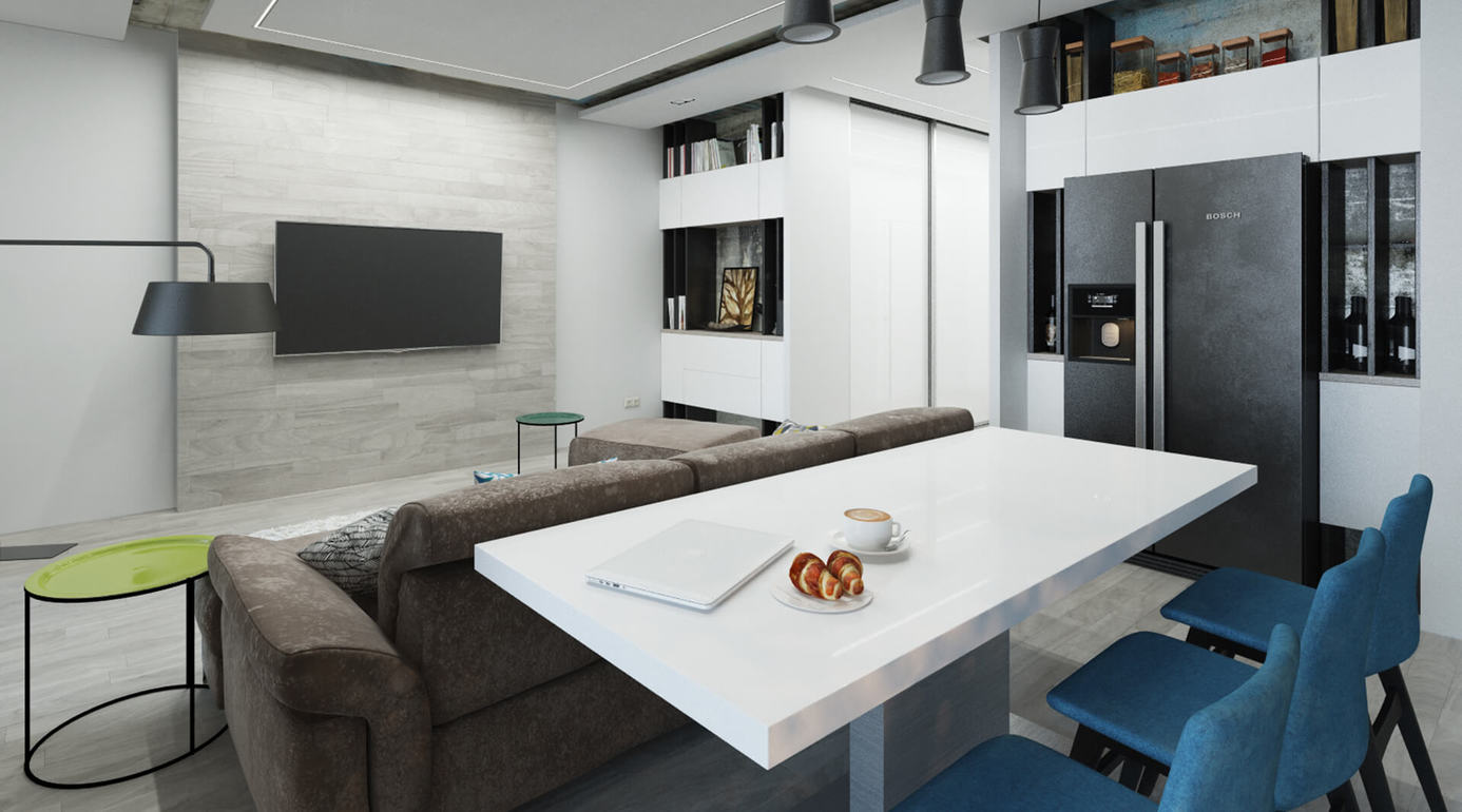 Large apartment for couples